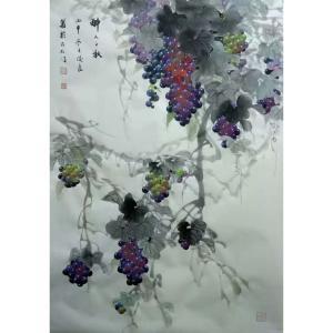 卢士杰国画作品《【醉人之秋】作者卢士杰》价格1450.00元