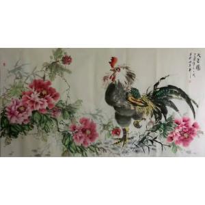 王长泉国画作品《大吉图2》价格500.00元
