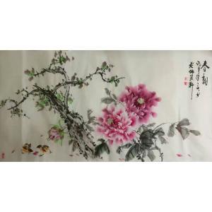 王长泉国画作品《【春韵3】作者王长泉》价格1000.00元