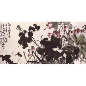 任清宇国画作品《【馨香】作者任清宇》价格11000.00元