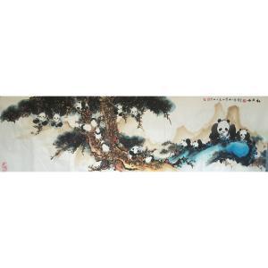 陈金石国画作品《【松宝图】作者陈金石》价格12000.00元