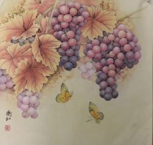 周卫红文玩杂项作品《庆丰收》价格800.00元