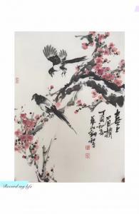 刘和平文玩杂项作品《喜上眉梢》价格5000.00元