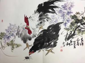 刘和平国画作品《吉祥之喜》价格3000.00元