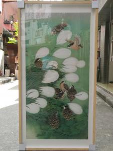 徐继良文玩杂项作品《九鹌图》价格5800.00元