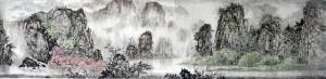 杨柏欣文玩杂项作品《【漓江风光】  作者 杨柏欣》价格2000.00元