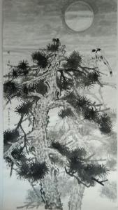 尹晓军国画作品《97》价格12000.00元
