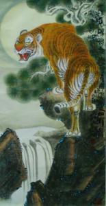 王福山国画作品《山水花鸟飞禽走兽》价格1000.00元