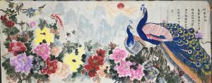 高文清国画作品《丹凤朝阳》价格400000.00元