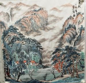 赵运泉国画作品《金秋》价格2000.00元