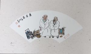 宋荣杰国画作品《煮茶图》价格3000.00元