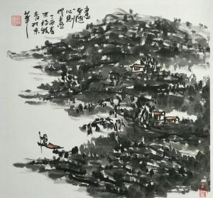 杨牧青国画作品《画至随心》价格40000.00元