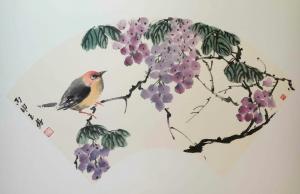 李玉凤国画《花鸟7》