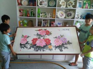 杨厚强国画作品《富贵吉祥》价格18000.00元