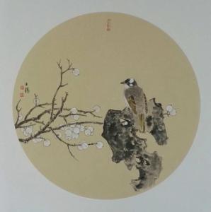 安士胜国画作品《小品》价格3000.00元