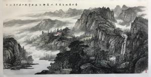 张仕森国画作品《原创》价格180000.00元
