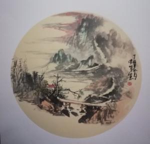 李明国画作品《山水小品》议价