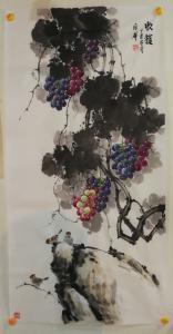 韩宗华国画作品《收获》价格4000.00元
