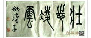 胡汉春书法作品《胡汉春书法》议价