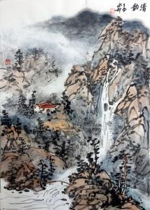 赵永利国画作品《韵清》价格400.00元