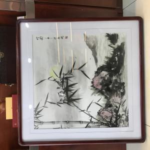 启鹏国画作品《清风》价格1200.00元