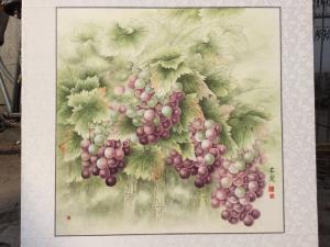 崔英阁国画作品《硕果图》价格5000.00元