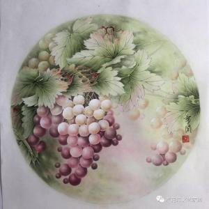 崔英阁国画作品《硕果图》价格1800.00元