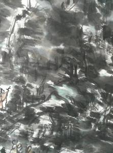 杨牧青国画作品《大写意山水》价格160000.00元
