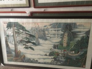 赵德锁国画作品《迎客松》价格8000.00元