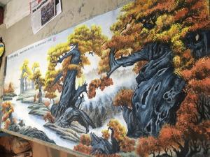 赵德锁国画作品《胡杨礼赞》价格6600.00元