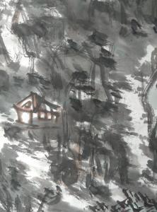 杨牧青国画作品《大写意山水画》价格120000.00元