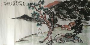 杨牧青国画作品《写意国画》价格120000.00元