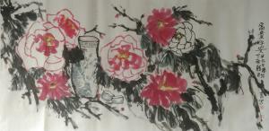 杨牧青国画作品《富贵平安》价格9000.00元