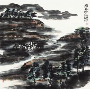 杨牧青国画作品《归家路》价格40000.00元