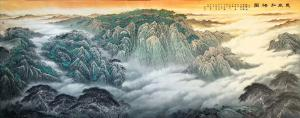 胡爱民国画作品《惠风和畅图》价格7200.00元