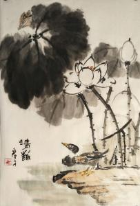 田君才国画作品《清趣》价格2600.00元