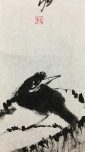 王永国画作品《水墨画》价格200.00元