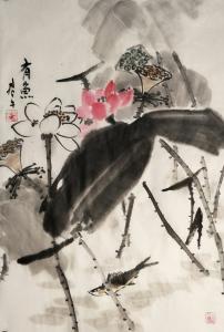 田君才国画作品《有余》价格2600.00元
