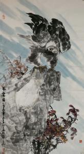 石川国画作品《苍穹图》议价
