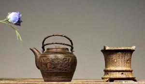 罗邵华文玩杂项作品《铁制茶壶茶炉》议价
