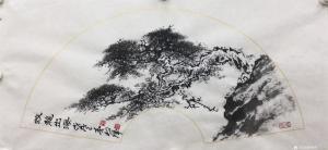 罗树辉国画作品《蛟龙出海》价格6000.00元