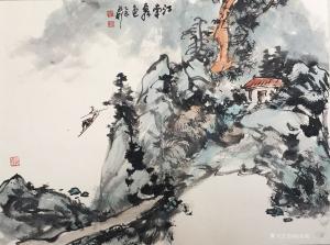 赵永利国画作品《江南秀色》价格2000.00元