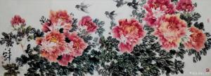 王立军国画作品《《富贵长春》》价格6000.00元