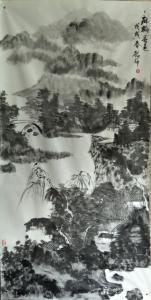 庞懿中国画作品《麻桥春色》价格40000.00元