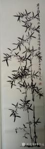 李伯元国画作品《墨竹》价格600.00元