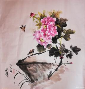 李同辉国画作品《小品》价格1500.00元