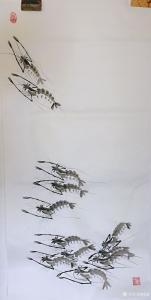 杨凌国画作品《节节高》议价