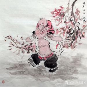 邢建明国画作品《周末》价格1000.00元