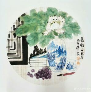 陈宏洲国画作品《瓷韵》议价