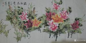 苏刚国画作品《富贵牡丹》价格1000.00元
